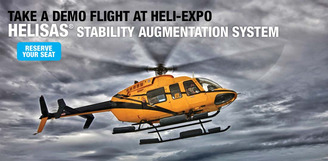 Schedule HeliSAS Demo Flight at Heli-Expo 2018