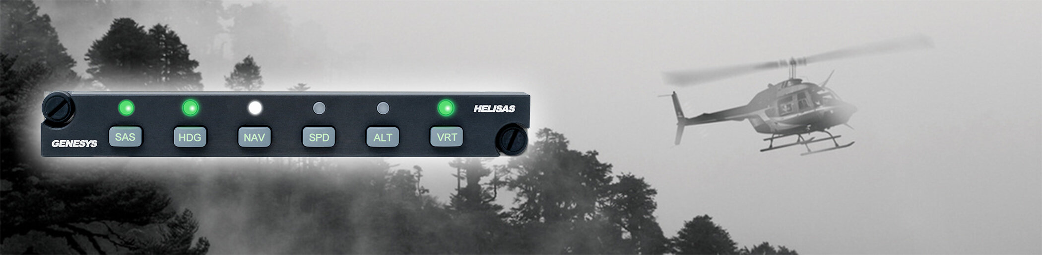 Genesys HeliSAS Autopilot and Stability Augmentation System