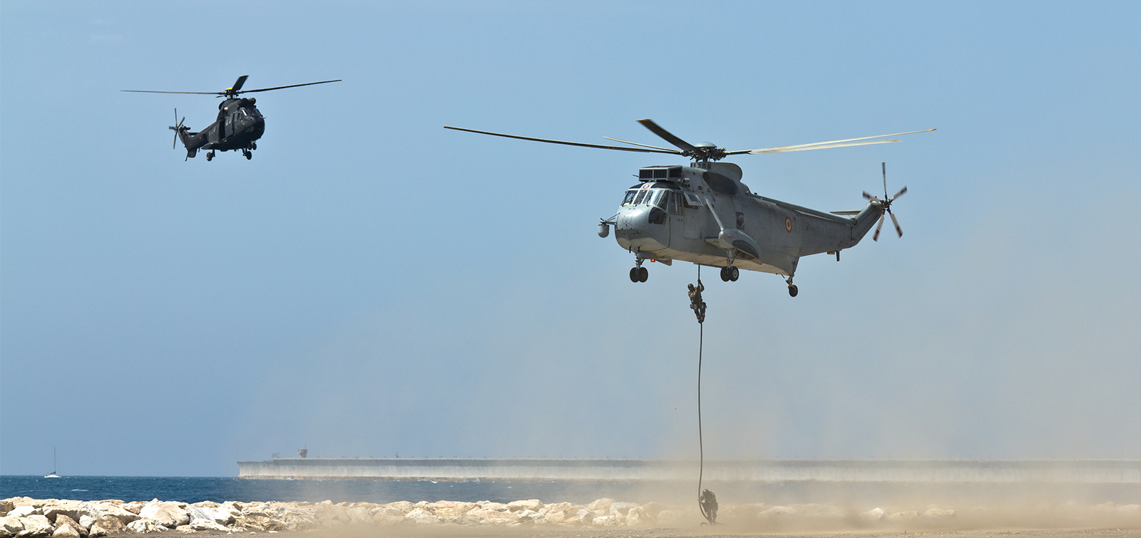 S_61T Helicopter