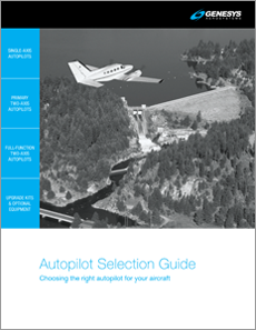 Genesys Aerosystems Analog Autopilot, Digital Autopilot Products