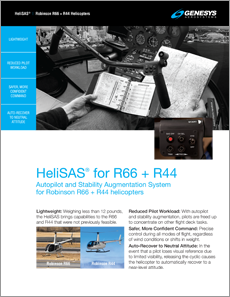 HeliSAS for R44 and R66 Helicopters