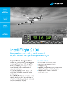 IntelliFlight 2100 DFCS