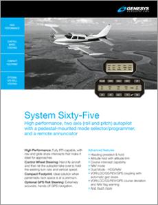 Genesys Aerosystems System 65 Analog Autopilot & Yaw Damper