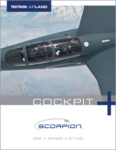 Textron AirLand Scorpion Jet Cockpit Data Sheet